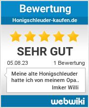Bewertungen zu honigschleuder-kaufen.de