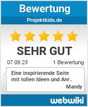 Bewertungen zu projektkids.de
