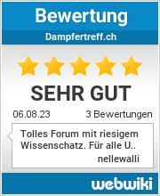 Bewertungen zu dampfertreff.ch