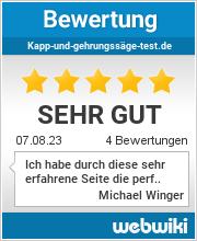 Bewertungen zu kapp-und-gehrungssäge-test.de