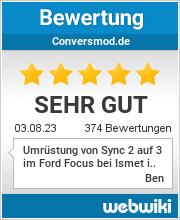 Bewertungen zu conversmod.de