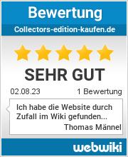 Bewertungen zu collectors-edition-kaufen.de