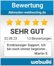 Bewertungen zu abheyden-webhosting.de