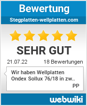 Bewertungen zu stegplatten-wellplatten.com