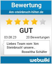 Bewertungen zu am-steinbruch-hilter.de