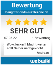 Bewertungen zu daughter-dads-sizzlezone.de