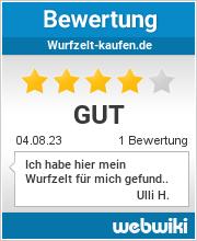 Bewertungen zu wurfzelt-kaufen.de