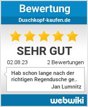 Bewertungen zu duschkopf-kaufen.de
