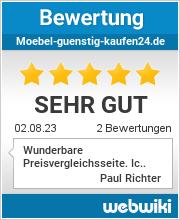 Bewertungen zu moebel-guenstig-kaufen24.de