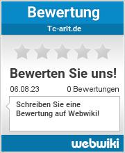 Bewertungen zu tc-arlt.de