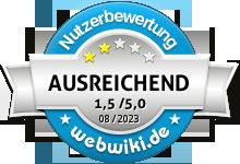 ehrmann.de Bewertung