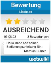 Bewertungen zu libble.de