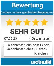 Bewertungen zu von-herz-zu-herz-geschichten.blogspot.com