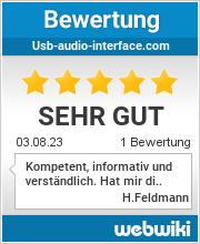 Bewertungen zu usb-audio-interface.com