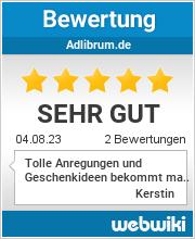 Bewertungen zu adlibrum.de