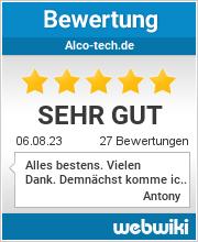 Bewertungen zu alco-tech.de