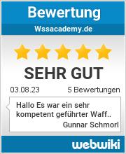 Bewertungen zu wssacademy.de