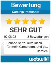 Bewertungen zu gamingzimmer.net