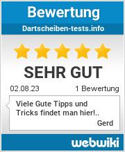 Bewertungen zu dartscheiben-tests.info