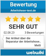 Bewertungen zu arbeitshose-test.de