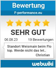 Bewertungen zu f-performance.eu