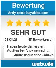 Bewertungen zu andy-tours-bayahibe.com