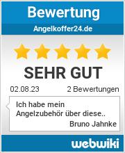 Bewertungen zu angelkoffer24.de
