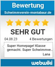 Bewertungen zu schwimmverein-montabaur.de