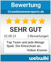 Bewertungen zu oceanbluewatersports.de