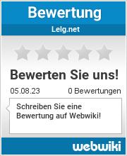 Bewertungen zu lelg.net