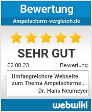 Bewertungen zu ampelschirm-vergleich.de