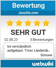 Bewertungen zu joozilla.com