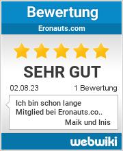 Bewertungen zu eronauts.com
