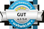 Bewertungen zu getraenkepulvershop.de