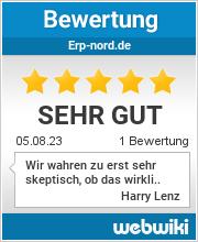 Bewertungen zu erp-nord.de