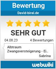 Bewertungen zu david-biral.de