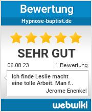 Bewertungen zu hypnose-baptist.de