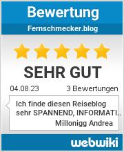Bewertungen zu fernschmecker.blog