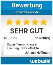 Bewertungen zu smartfit-ems.de