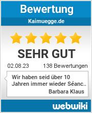 Bewertungen zu kaimuegge.de