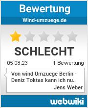 Bewertungen zu wind-umzuege.de