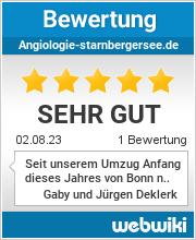 Bewertungen zu angiologie-starnbergersee.de