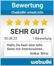 Bewertungen zu chalkidiki-urlaub.info