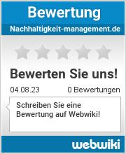 Bewertungen zu nachhaltigkeit-management.de