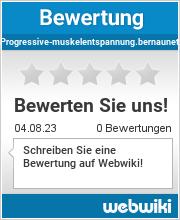 Bewertungen zu progressive-muskelentspannung.bernaunet.com