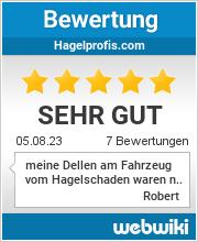 Bewertungen zu hagelprofis.com