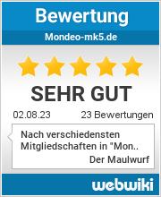 Bewertungen zu mondeo-mk5.de