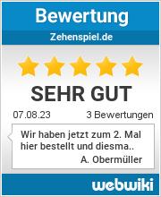 Bewertungen zu zehenspiel.de