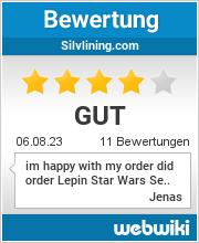 Bewertungen zu silvlining.com