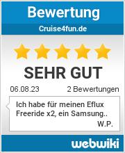 Bewertungen zu cruise4fun.de